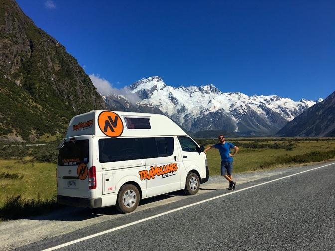 wunderschöne Alpenkulisse