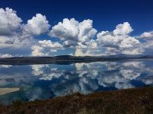 Spiegelungen auf dem Lake Pukaki