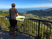 Aussicht vom Takaka Hill
