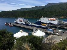 Fährhafen von Picton