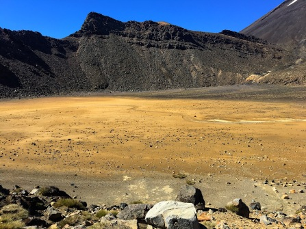 gelber Krater