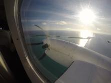 Über der Lagune Aitutakis