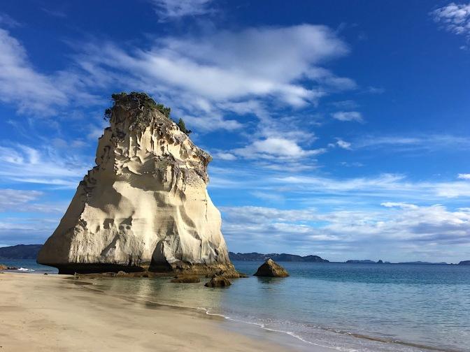 """Te Hoho"" wird dieser Fels genannt"