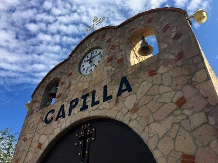 Eine Kapelle darf natürlich auch in einer Tequila-Destillerie nicht fehlen