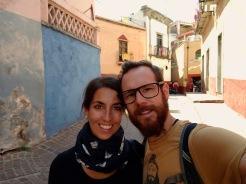 in den Gassen Guanajuatos