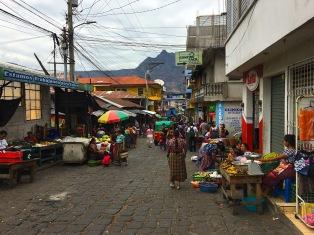 Markt von San Pedro La Laguna