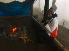 Lagerfeuerromantik auf dem Vulkan