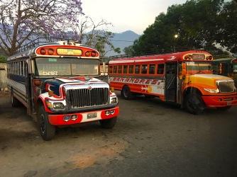 Busbahnhof Antigua