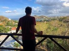 Blick auf die Bucht von San Juan del Sur