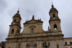 Sacro Santa Iglesia Catedral Primada Basílica Metropolitana de la Inmaculada Concepción de María en Bogotá.....ja wirklich...