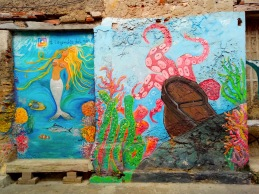 Streetart in Cartagena