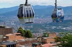 Teleferico über Medellin
