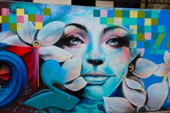 Graffiti in der Comuna 13