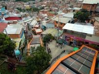 Rolltreppen in der Comuna 13