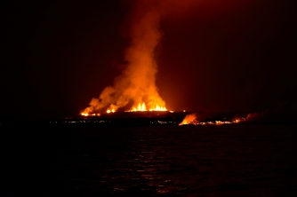 Vulkanausbruch Sierra Negra