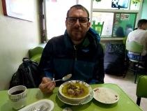 Erstmal aber ist Frühstück à la Colombia angesagt