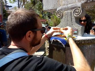 Experimente am Äquator
